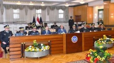 الرئيس السيسي يزور أكاديمية الشرطة