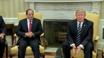 لرعايته مفاوضات سد النهضة.. السيسي يشكر ترامب هاتفيا