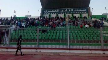 إصابة مشجعين بالنادي المصري في تصادم أتوبيسين