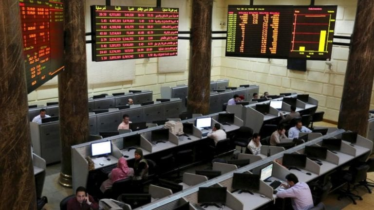 تراجع البورصة في بداية جلسات الأسبوع: رأس المال يخسر 1.7 مليار جنيه