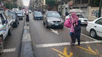 الطقس السيئ في مصر