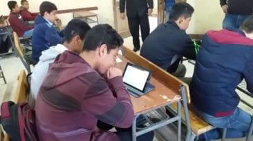 امتحانات طلاب أولى ثانوي