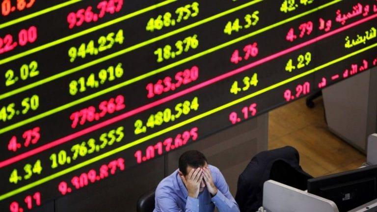 بختام الجلسة الرابعة للبورصة: رأس المال يخسر 5 مليارات جنيه