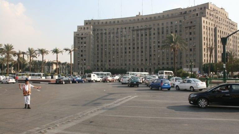 تزيين ميدان التحرير