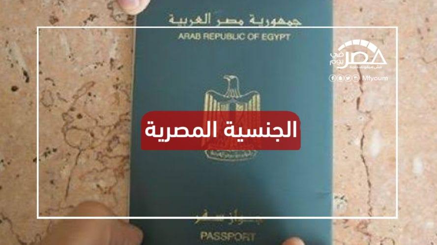 شروط الحصول على الجنسية المصرية