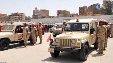 المتحدث العسكري: نشر قوات الجيش لتأمين احتفالات رأس السنة الميلادية