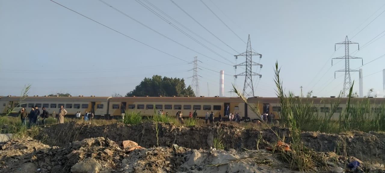 توقف حركة قطارات خط المناشي