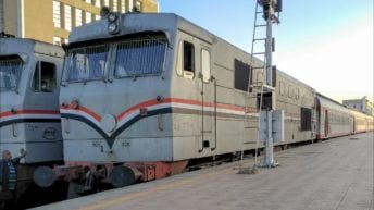 مصرع عامل دهسه قطار في سوهاج أثناء عبور السكة الحديد