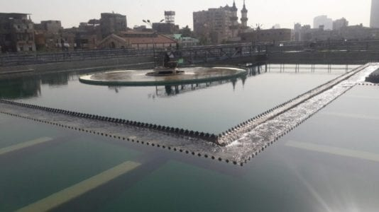 مياه الشرب بالقاهرة الجديدة