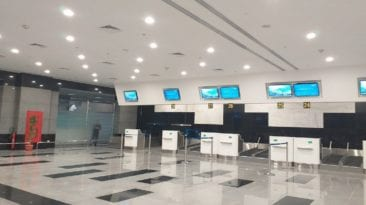 مطار شرم الشيخ يستقبل سياح فرنسيين