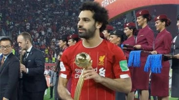 محمد صلاح يتوج بجازة أفضل لاعب في بطولة كأس العالم للأندية
