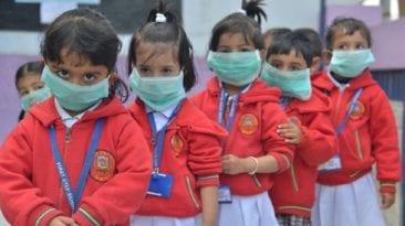 إنفلونزا الخنازير بالمدارس الدولية