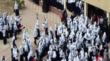 اختناق 11 طالبة في الوادي الجديد