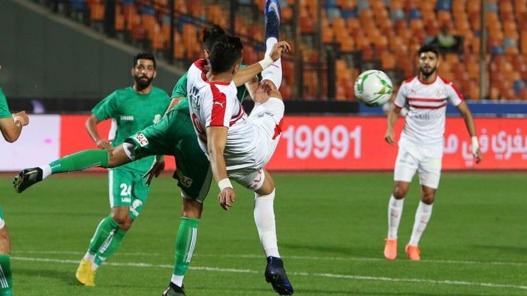 نادي الزمالك يهزم الشرقية ويتأهل لدور الـ16 من كأس مصر