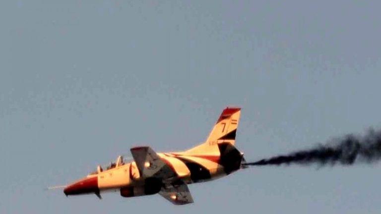 المتحدث العسكري: سقوط طائرة تدريب أثناء تنفيذ إحدى الطلعات