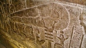 آثار فرعونية في الدقهلية