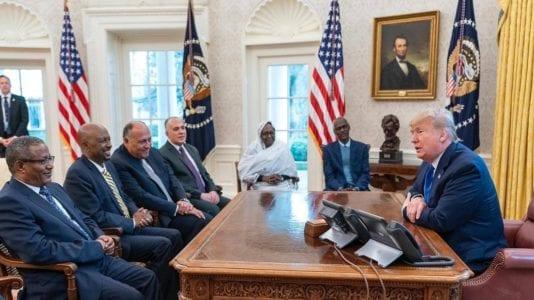 اجتماعات سد النهضة في واشنطن