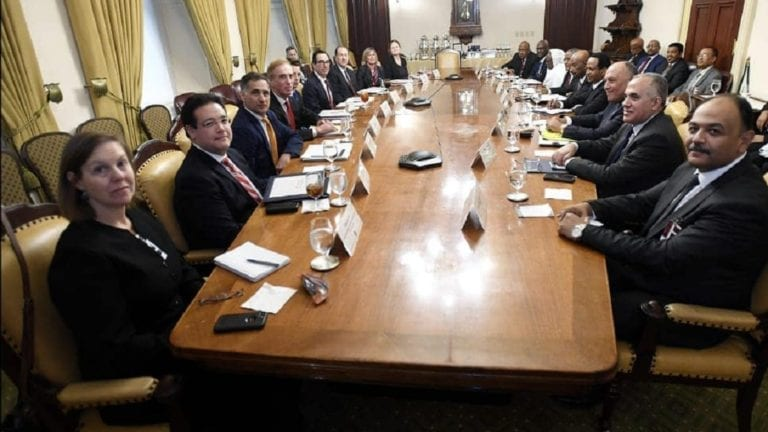نتائج اجتماع واشنطن بشأن سد النهضة