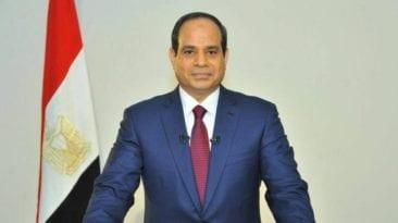 الرئيس السيسي في احتفالية عيد الشرطة