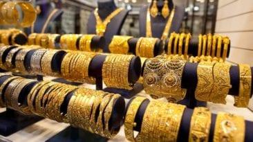 الذهب يرتفع 3 جنيهات وتذبذب أسعار العملات: عيار 21 بـ687 جنيها