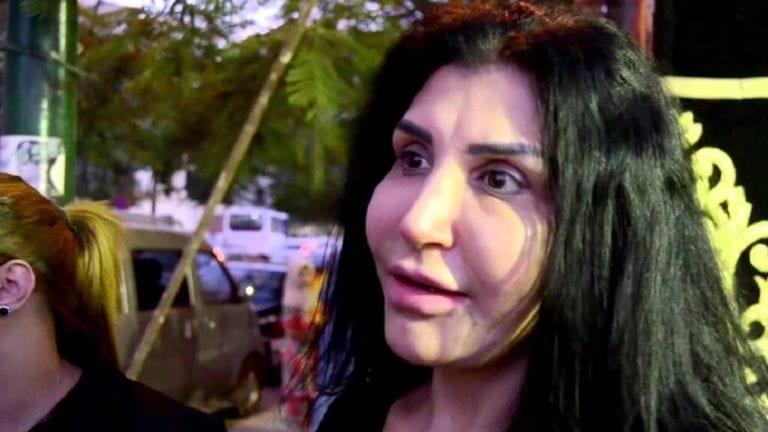 الفنانة نادية سلامة