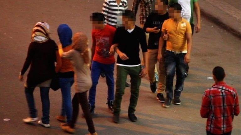 التحرش الجماعي بفتاة في المنصورة