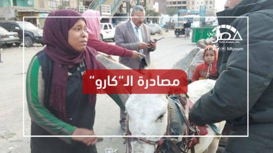 """""""صاحبة عربة الكارو"""".. كيف حقق ناشطون ما لم تحققه دموعها؟ (فيديو)"""