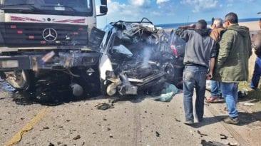 مصرع 15 شخصا وإصابة 25 في حوادث: انقلاب وصعق ودهس