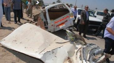 مصرع 15 شخصا وإصابة 25 آخرين: حوادث سيارات وغرق وسقوط من قطار