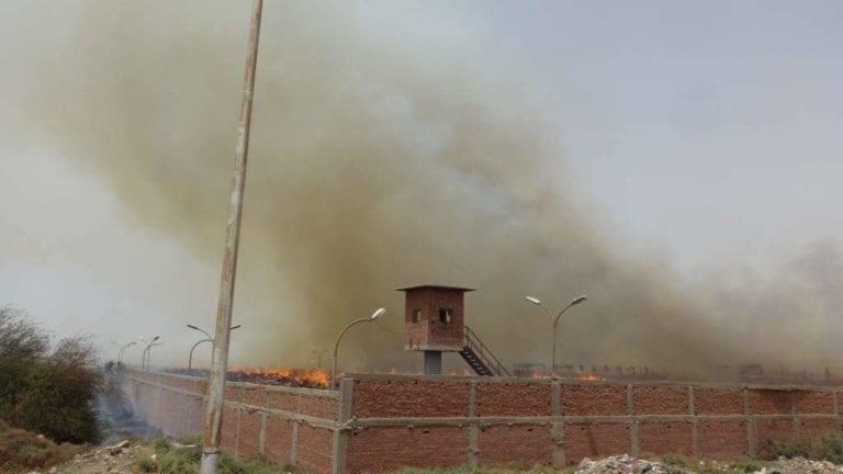 حريق في مصنع سكر إدفو بأسوان: إصابة 4 عمال