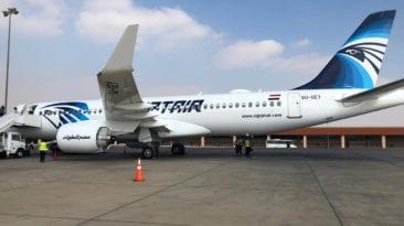 """مصر للطيران تستعد لاستلام أولى """"طائرات إيرباص A320neo"""""""