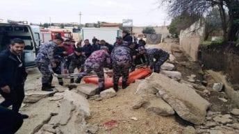 مصرع 3 عمال مصريين في الأردن إثر انهيار سور مدرسة