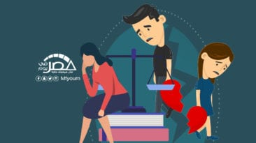 ارتفاع حالات الطلاق خلال 10 سنوات (إنفوجراف)
