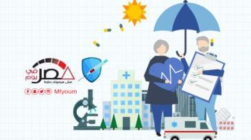 التأمين الصحي الشامل في مدن القناة وجنوب سيناء (إنفوجراف)