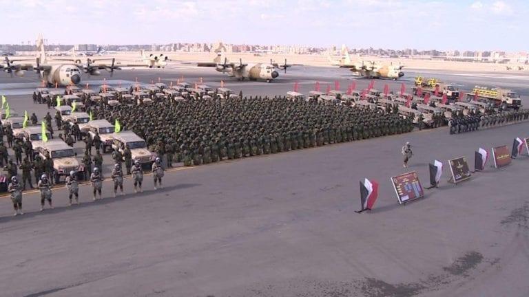 السيسي يفتتح قاعدة برنيس العسكرية