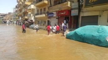 انقطاع المياه عن مناطق في القاهرة