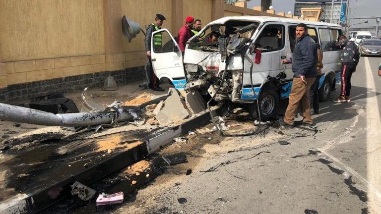 مصرع وإصابة 16 شخصا في سوهاج