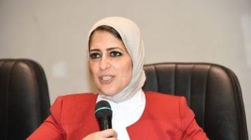 وزيرة الصحة عن حادثة طبيبات المنيا: قضاء وقدر ليس مسئوليتنا