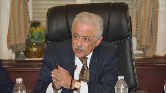 وزير التعليم يؤكد انخفاض نسبة الغش