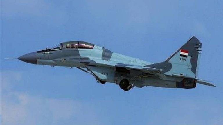 المتحدث العسكري يعلن سقوط طائرة مقاتلة ومصرع قائدها