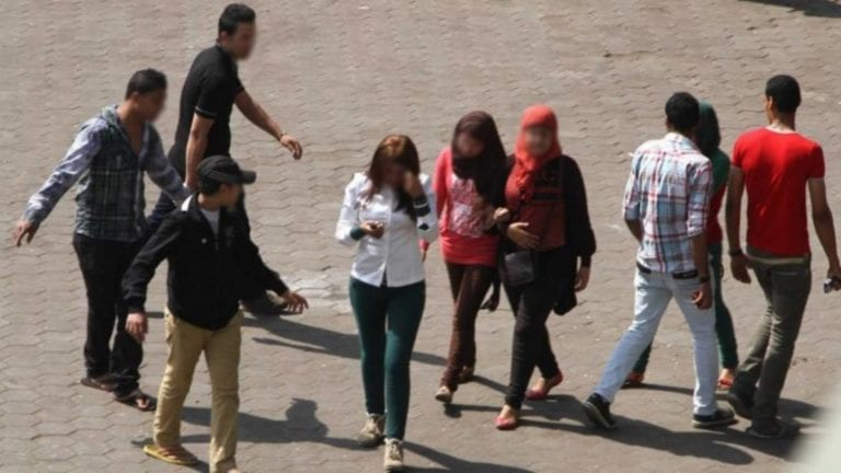 """حبس 7 متهمين في واقعة التحرش الجماعي بـ""""فتاة المنصورة"""""""
