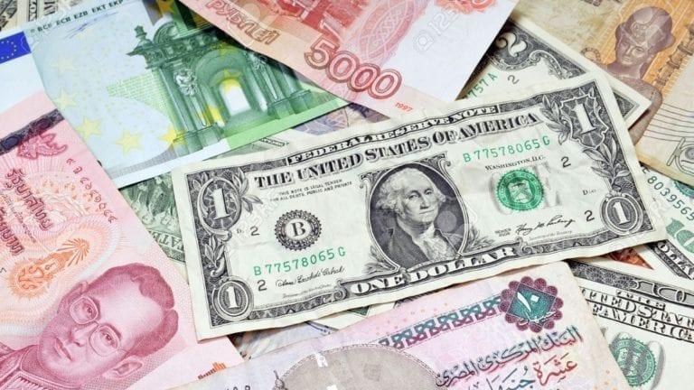 انخفاض أسعار العملات الأجنبية والعربية