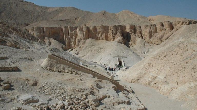 اكتشافات أثرية في وادي الملوك