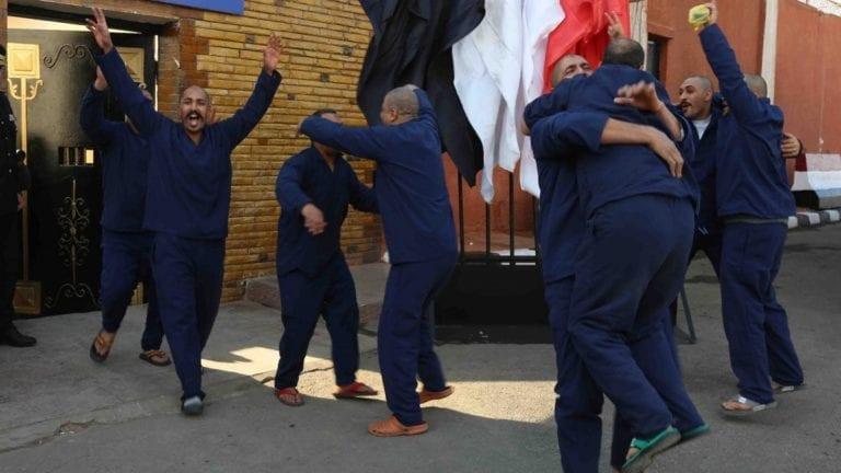 الإفراج عن 541 سجينا بعفو رئاسي وشرطي