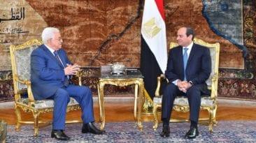 السيسي يتحدث عن صفقة القرن مع أبو مازن