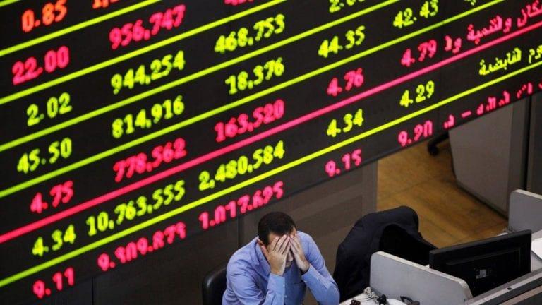 البورصة في جلسة منتصف الأسبوع: رأس المال يخسر 128 مليون جنيه