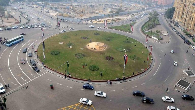 حادثة دهس فتاة في ميدان التحرير