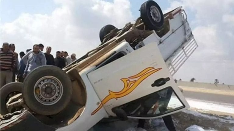 حادثة سير بالدقهلية