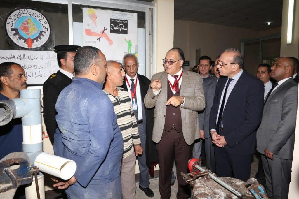 صحفيون وحقوقيون يزورون سجن المرج العمومي.. تفاصيل (صور)