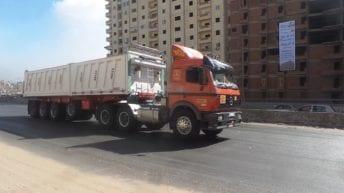 النقل الثقيل بأسوان